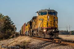 UP 9459 | GE C41-8W | UP Memphis Subdivision