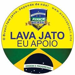 "Logo do ""Movimento Avança Brasil"""