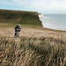 Seven sisters: grass, cliff and sea
