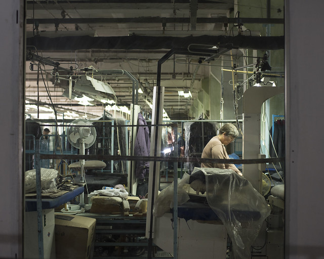 A typical Ukrainian garment factory 2017