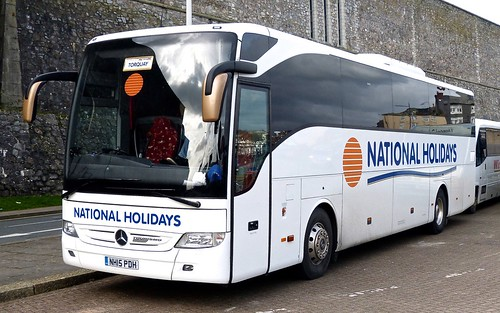 NH15 PDH 'National Holidays' Mersede-Benz Tourismo on 'Dennis Basford's railsroadsrunways.blogspot.co.uk'