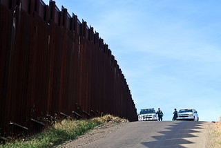 border patrol at the wall | by karenandbrademerson