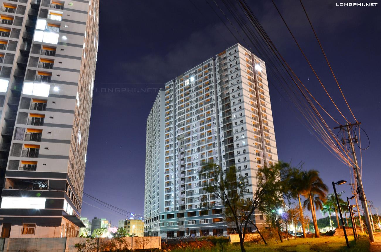 Mặt trong tháp Bắc M1 - Jamona Apartment (15/11/2017).