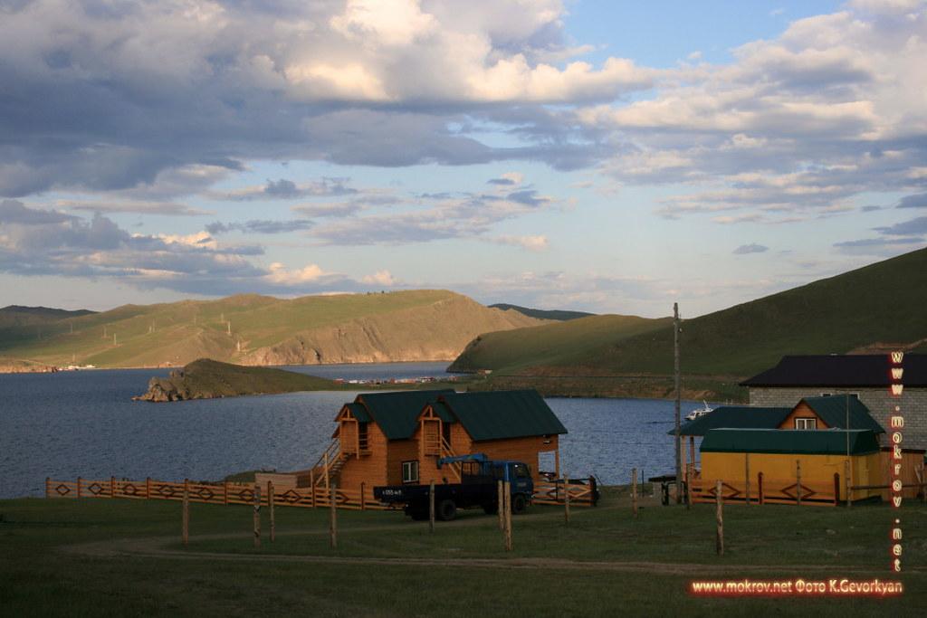 Малое море Озеро Байкал прогулки туристов