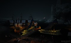 The Ships in Velia come to sleep