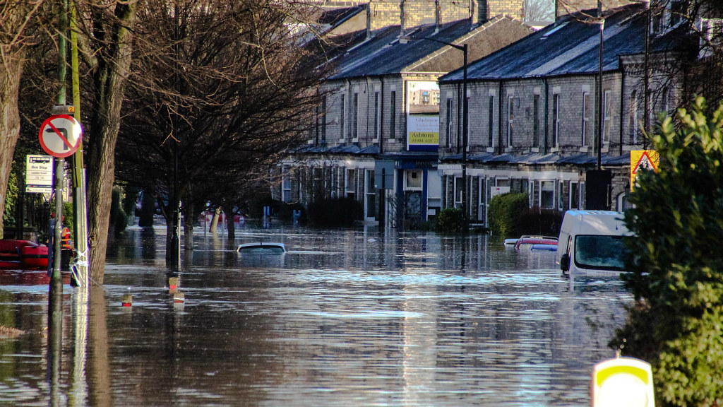 2015 floods in York, UK