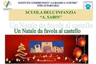 Noicattaro. Eventi Natale Sabin 2017 front