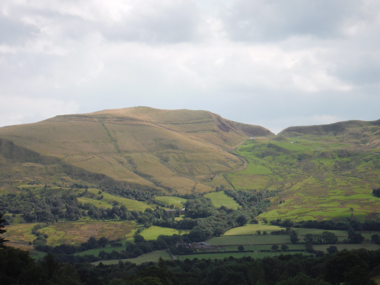 Mam Tor from The Nab SWC Walk 303 - Edale Circular (via Kinder Scout and Mam Tor)