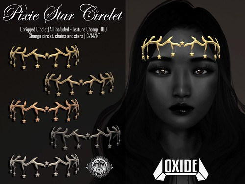 OXIDE Pixie Star Circlet