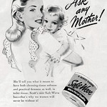 Thu, 1945-11-01 00:00 - Ad, Personal Product - Scott Paper Products, Soft-Weve Toilet Tissue, Ask any Mother - Lady's Home Journal, 1945-11
