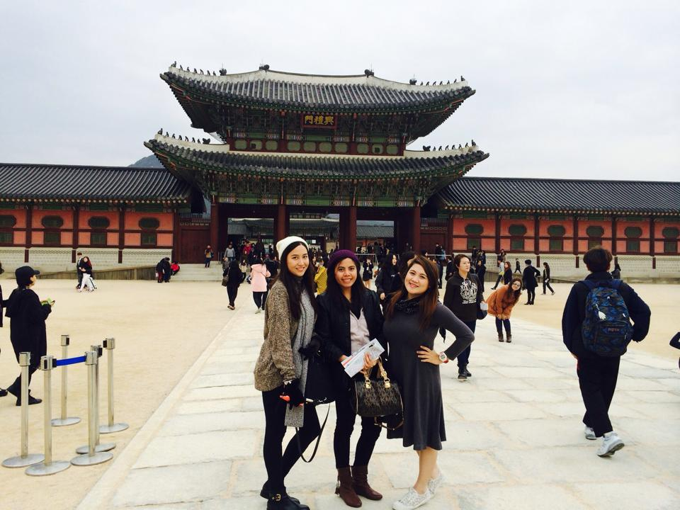 Korea with Friends
