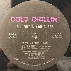D.J. POLO & KOOL G. RAP:IT'S A DEMO(LABEL SIDE-A)