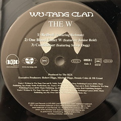 WU-TANG CLAN:THE W(LABEL SIDE-B)