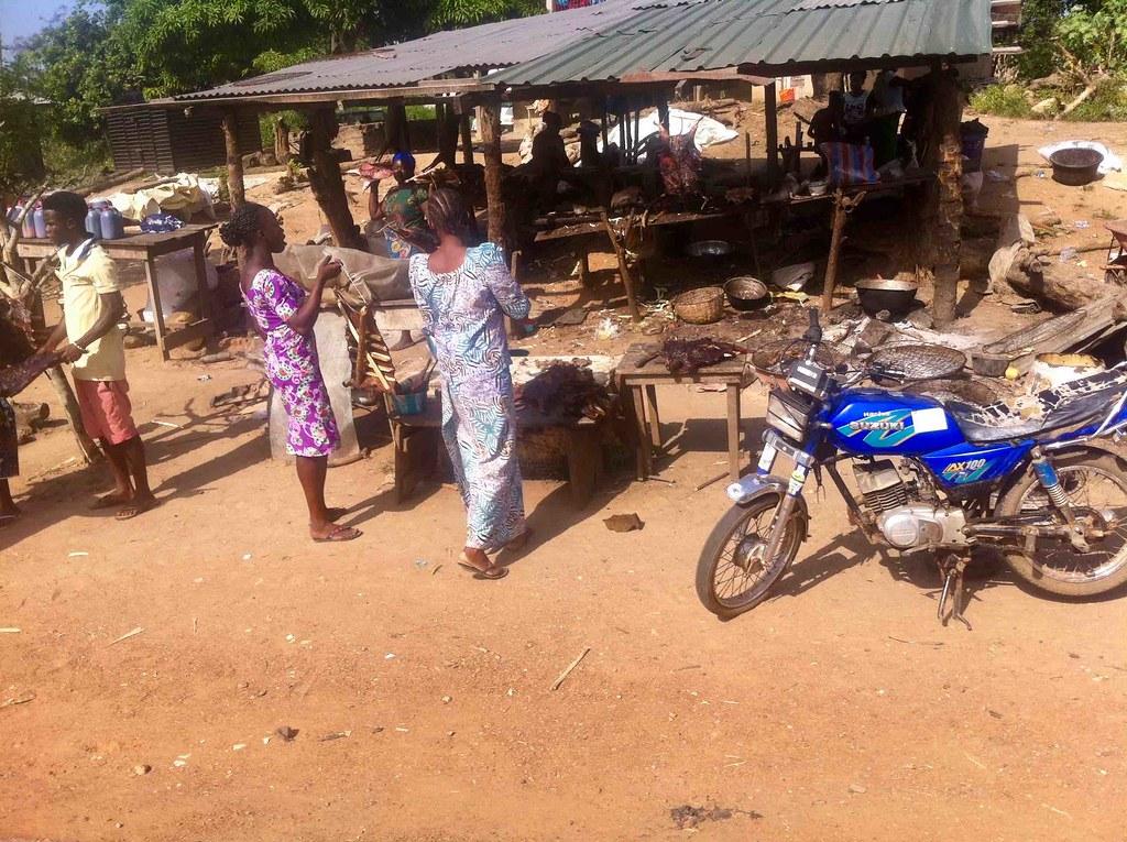 Roadside Bushmeat Market, Ondo, Ondo State, Nigeria, #JujuFilms near Asolo