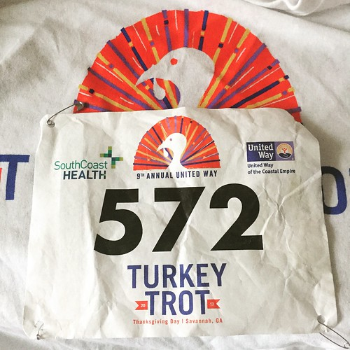 I survived the Turkey Trot.
