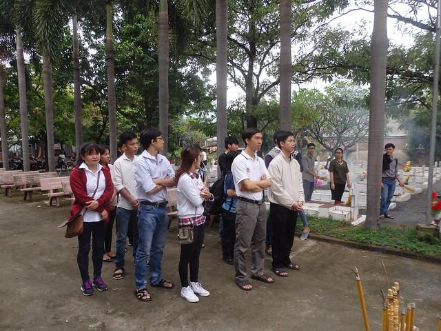 Viếng mộ Cha Minh Đăng 5/12/2017