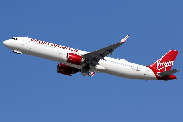 Virgin America   Airbus A321-200N   N922VA   Los Angeles International