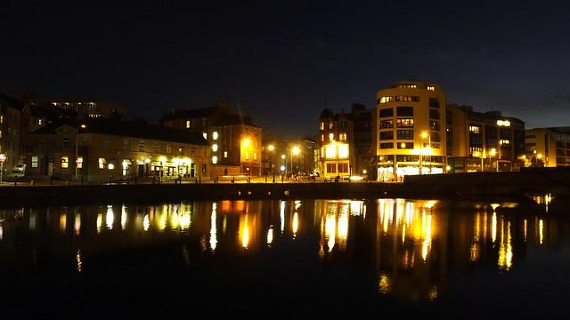 The Shore, winter night 07