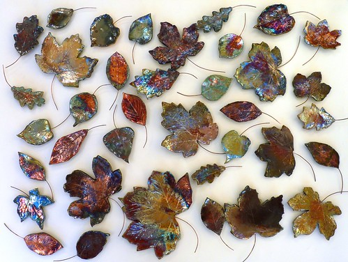 raku leaves