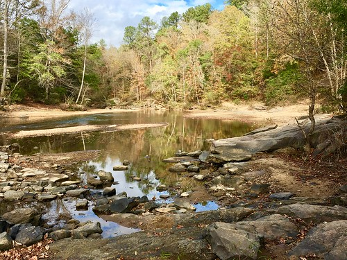 Creek Scene, Hurricane Creek Park, Tuscaloosa, Alabama.