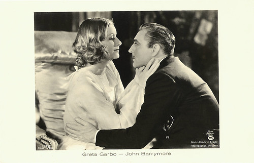 Greta Garbo and John Barrymore in Grand Hotel (1932)
