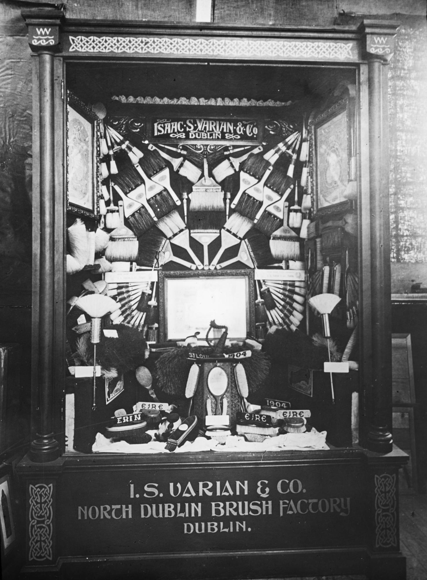I.S. Varian & Co., brushmakers. North Dublin