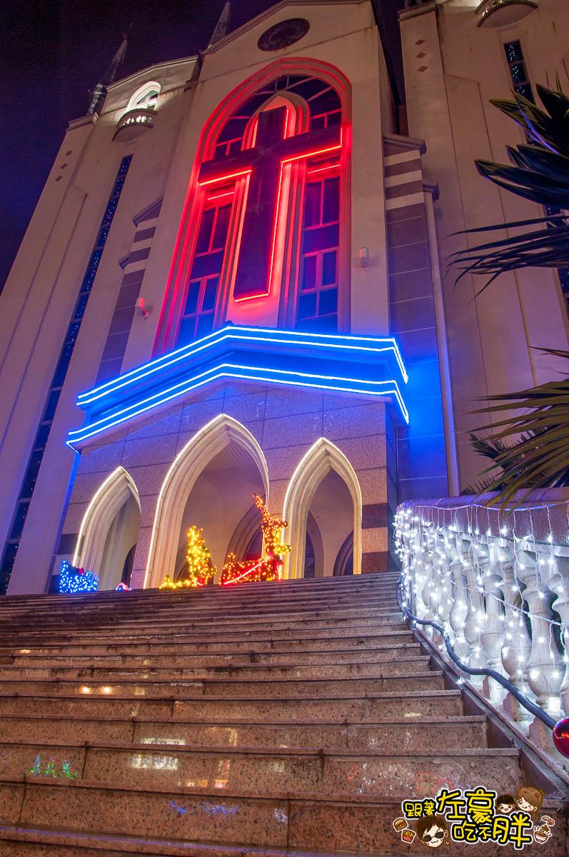 鳳山最美教堂聖誕景點-11