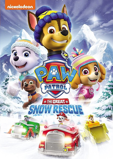 PAW Patrol- The Great Snow Rescue Cover Art