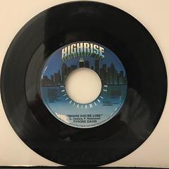 TYRON DAVIS:A LITTLE BIT OF LOVING(GOES A LONG WAY)(RECORD SIDE-B)