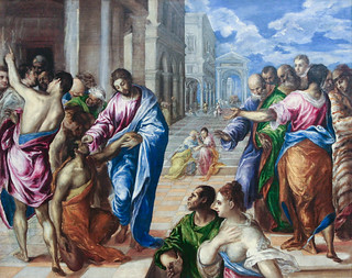 El Greco, The Miracle of Christ Healing the Blind, possibly ca. 1570