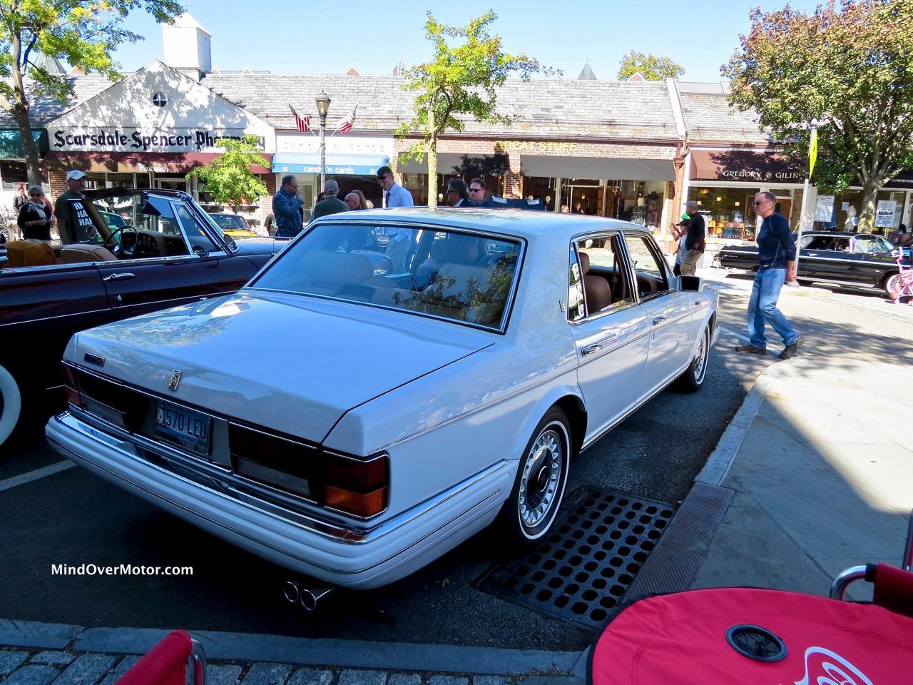 Rolls Royce Spur IV Rear