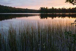 Chickenbone Lake sunrise (part 2)