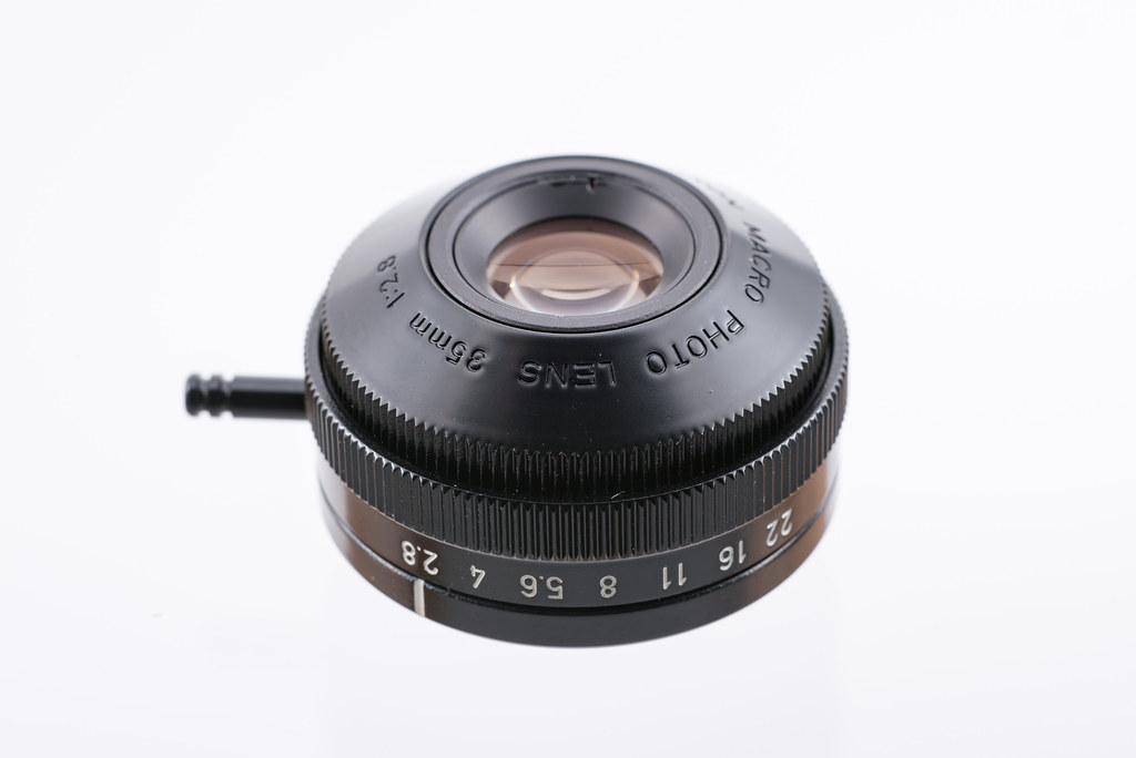 CANON MACRO PHOTO LENS 35mm 1:2.8