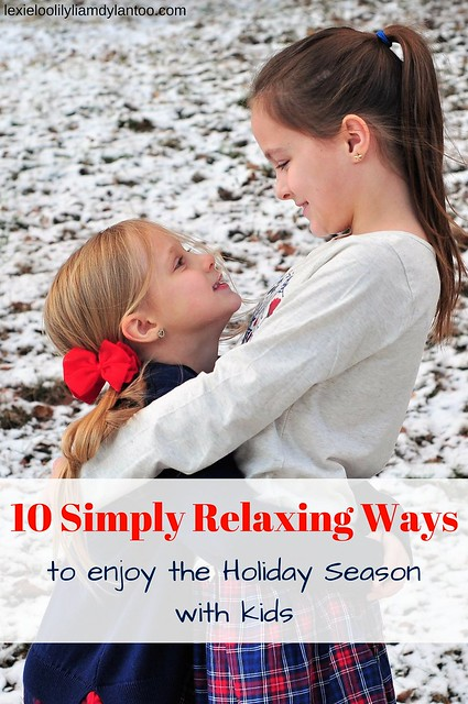 10 Simply Relaxing Ways To Enjoy The Holiday Season With Kids ~ Featuring Cozy Holiday Style From OshKosh B'gosh + $50 Gift Card GIVEAWAY #sponsored #holidaychill #holidaystyle #kidsfashion #OshKoshBGosh #kidsstyle