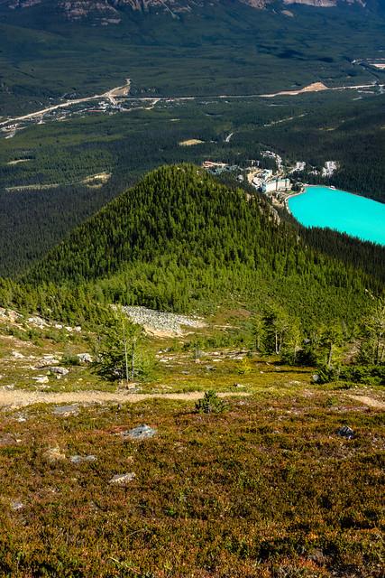 Descending Mt. St. Piran: Banff National Park, AB., (Image 1)