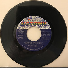 THE JACKSON 5:NEVER CAN SAY GOODBYE(RECORD SIDE-A)
