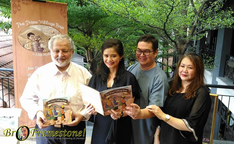 Pelancaran Buku The Three Village Boys di Malaysia
