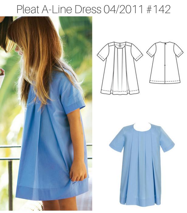 Pleat A Line Dress 1