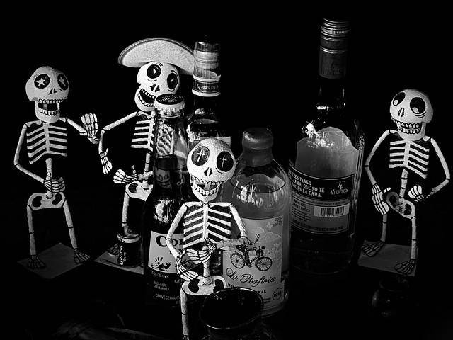 Día de Muertos altar.