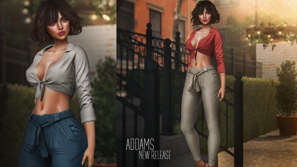 ADDAMS – NEW RELEASE♥