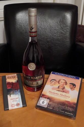 """Cognac und Praliné-Schokolade zum Film """"Madame Mallory und der Duft von Curry"""""""