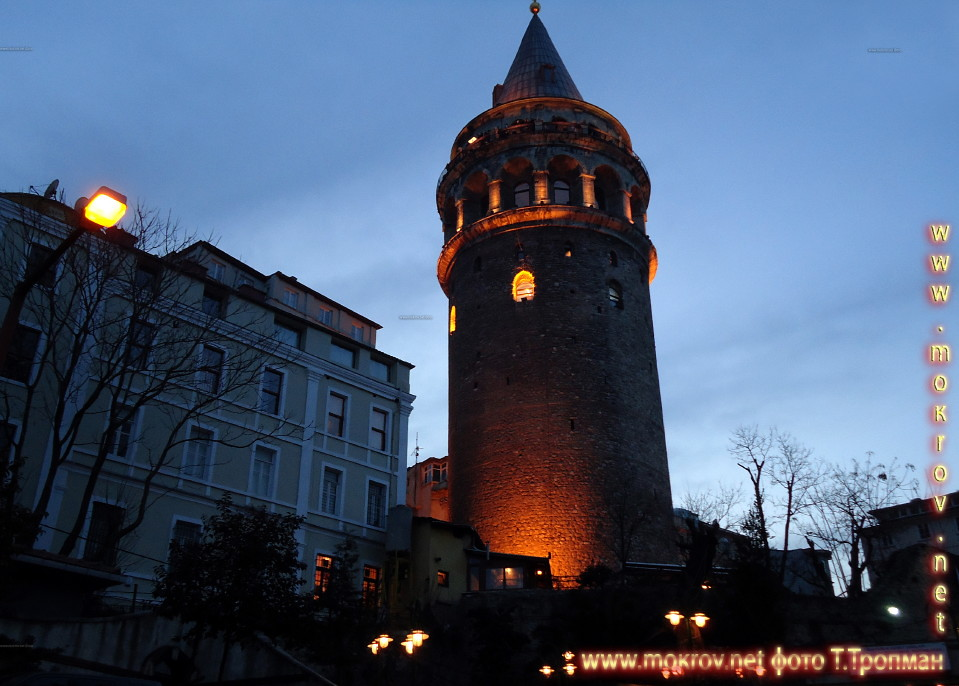 Стамбул, Башня Галата.