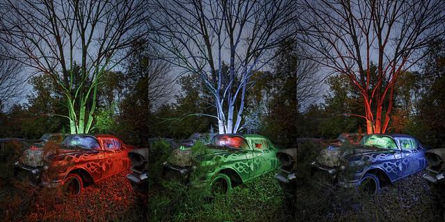 Cadillac Triptych