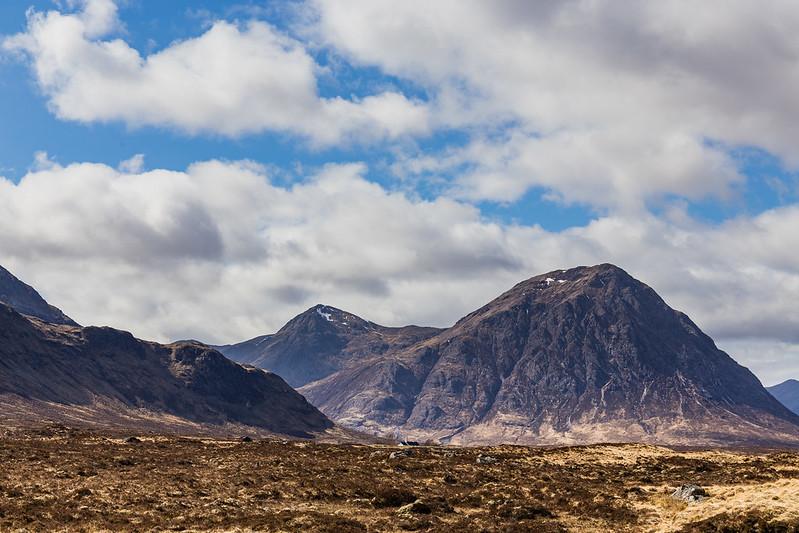 On the road between Loch Lomond and Glen Coe - Scotland 2017