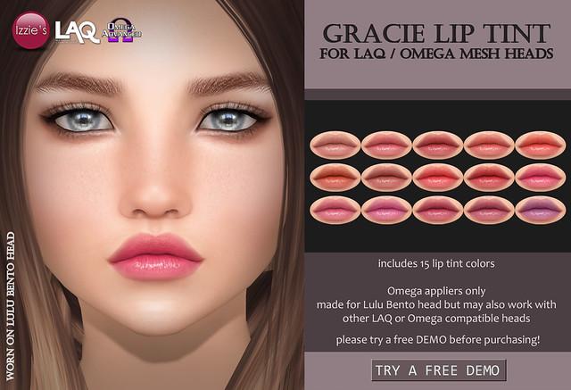 Gracie Lip Tint (LAQ/Omega)