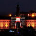 RWY lit up at the  Illuminate Festival 2017 by Paige Alexander