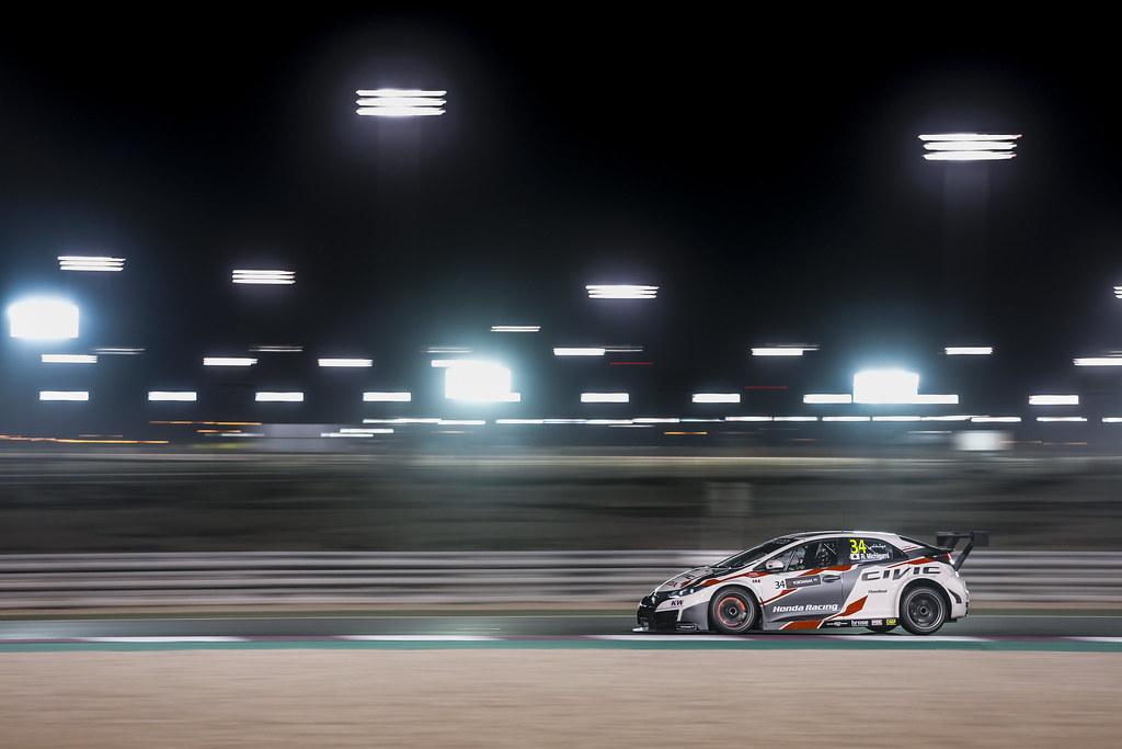 34 MICHIGAMI Ryo, (jpn), Honda Civic team Honda racing team Jas, action during the 2017 FIA WTCC World Touring Car Championship race at Losail  from November 29 to december 01, Qatar - Photo Francois Flamand / DPPI