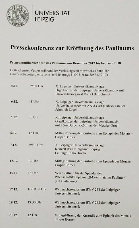 Paulinum – Aula und Universitätskirche St. Pauli