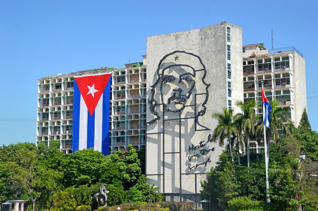 Ministry of the Interior, Plaza de la Revolucion, Havana