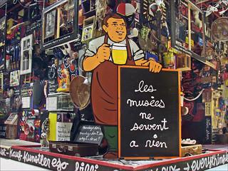 Le Bizart Baz'art de Ben (musée d'art contemporain, Lyon)